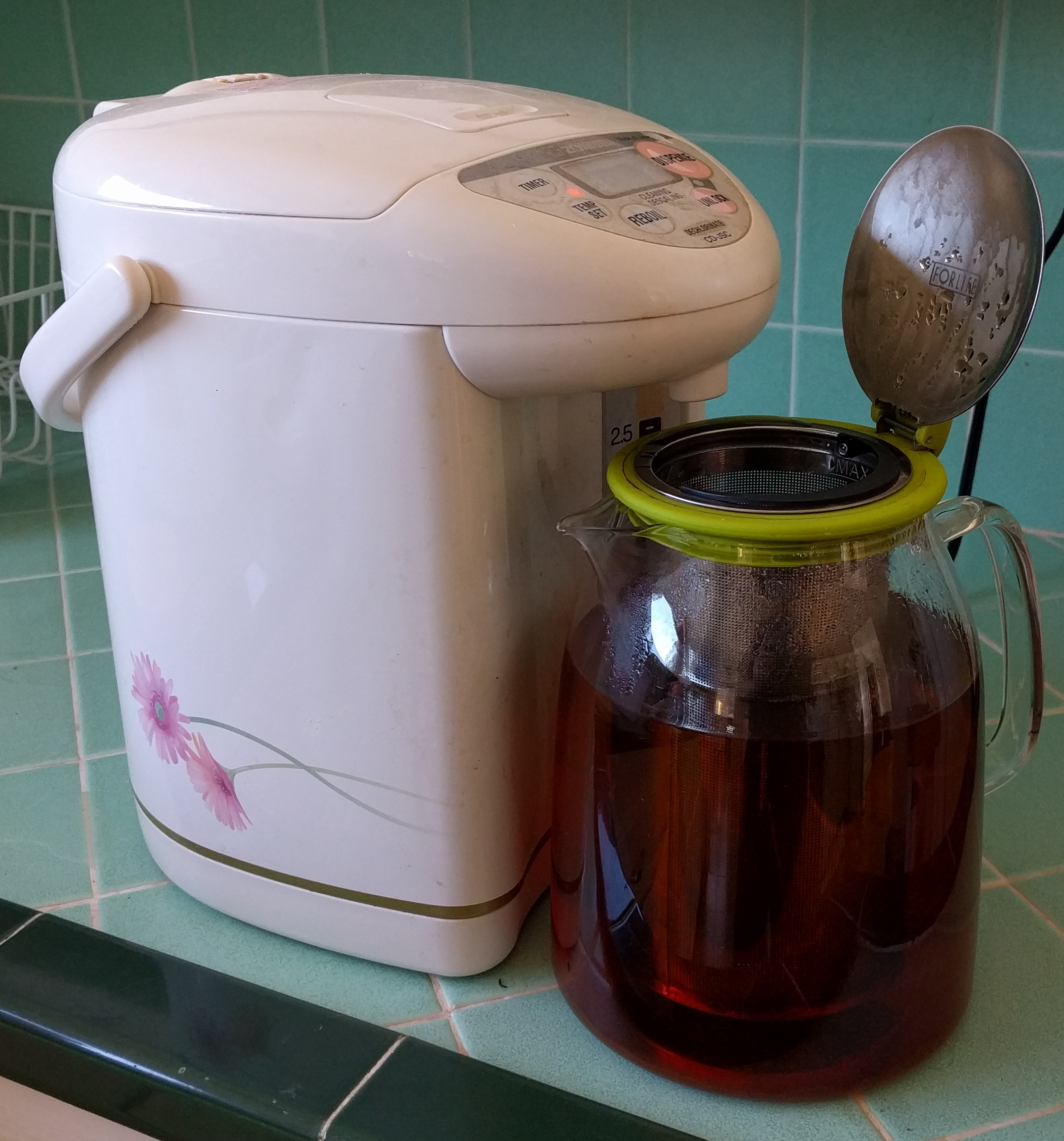 Home Brewed Iced Tea