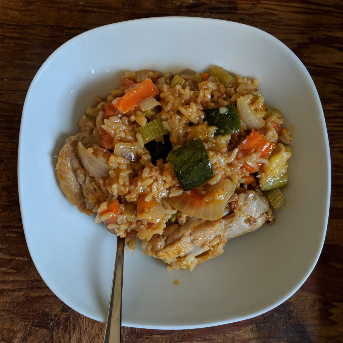 One-Pot Portuguese(ish) Chicken and Rice